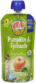 Earth's Best - Pumpkin & Spinach -4oz