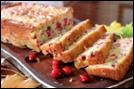 Cranberry Walnut Bread -1loaf