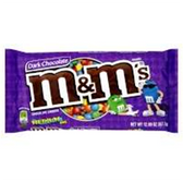 M&M's Dark  Chocolate -10.8 oz