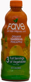 Fave Fruit & Vegetable Juice - Orange Tangerine Pineapple -46oz