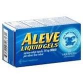 Aleve Naproxen Sodium Liquid Gels - 20 Count