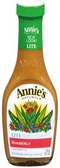Annie's - Lite Gingerly Dressing -8oz