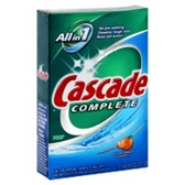 Cascade Autodish Detergent Complete Powder Citrus Breeze-45 oz