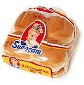 Sunbeam Classic Hamburger Buns -8 ct