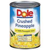 Dole Crushed Pineapple - 20 oz