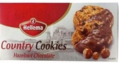 Hellema Country Cookies - Hazelnut Chocolate -6.2oz
