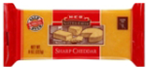 Store Brand Sharp Cheddar Block Cheese -8oz