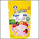 Gerber Graduates Yogurt Melts Berry-1 oz