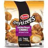 Tyson Anytizers Chicken Breast Chunks W/ General Tsao Sauce-25.5