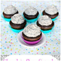 Chocolate Iced White Cupcakes - 12 ct