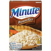Minute Brown Instant Whole Grain Rice - 28 oz