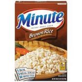 Minute Brown Instant Whole Grain Rice - 28 oz