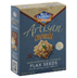 Blue Diamond Artisan Nut‑Thins Flax Seeds Cracker Snacks,