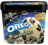 Breyer's Blasts - Oreo Chocolate Cookies & Crème -1.5qt