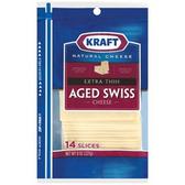 Kraft  Deli Fresh Aged Swiss Cheese -10 ct