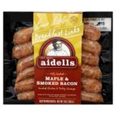 Aidells Breakfast Links Maple Bacon