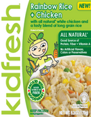 KidFresh - Rainbow Rice & Chicken -1 meal