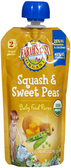 Earth's Best - Squash & Sweet Peas -4oz
