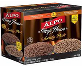 Alpo Chop House Finely Ground Variety Packcuts in Gravy-8ct