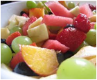 Mixed Fruit- Peach,Strawberry,Cantalope,Pineappl &Red Grape-5lb
