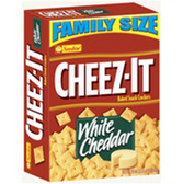 Cheez-It Baked Snack Crackers White Cheddar -12 oz