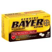 Bayer Original Aspirin Tablets - 50 Count
