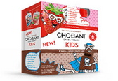 Chobani Kids Vanilla Chocolate Dust and Strawberry-4pk