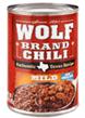 Wolf Mild No Beans Chili, 15 OZ