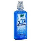 Act Mint Anticavity Fluoride Rinse - 18 Fl. Oz.