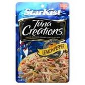 Starkist Tuna Creations Package - Zesty Lemon Pepper -4.5 oz