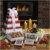 Dilettante Chocolates® Chocolate Devotion Gift Tower