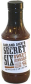 Garland Jack's Secret 6 - Sweet Brown Sugar Barbecue Sauce -18oz