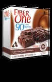 Fiber One 90 Calorie Brownies - Chocolate Fudge -6 bars