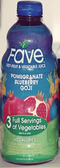 Fave Fruit & Vegetable Juice - Pomegranate Blueberry Goji -46oz