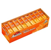 Austin Cheese Crackers With Peanut Butter - 45 pk
