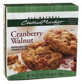 Central Market All Natural Cookie Dough - Cranberry Walnut
