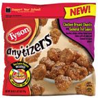 Tyson Anytizers Chicken Breast Chunks w/ General Tsao Sauce-10oz