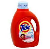 Tide 2x April Fresh Liquid Laundry Soap W/ Downey - 24 load