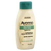 Aveeno Skin Relief Fragrance Free Body Wash - 12 Fl. Oz.