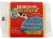 Horizon Organic American Singles -8oz