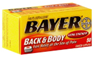 Bayer Back & Body Extra Strength Pain Reliever/Adjuvant Coated C