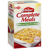 Betty Crocker Meals Chicken w/Cheesy Rice and Broccoli-5.5 oz