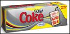 Diet Coke Fridge Pack Sweetened W/ Splenda -12pk