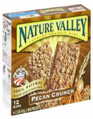 Nature Valley Crunchy Bars - Pecan Crunch -6 pouches