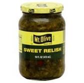 Mt Olive Relish Dill -16 oz