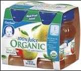 Gerber Pear Juice -4/4oz