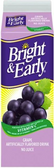 Bright & Early - Grape Juice -59oz