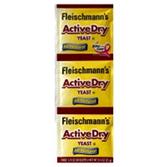 Fleischmanns Active Dry Yeast - 3 pk