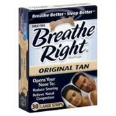 Breathe Right Medium And Large Nasal Strips - 30 Count