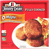 Jimmy Dean - Maple Pork Sausage Patties -9.6oz 1